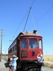 Changing Trolley Poles at the End of the Line